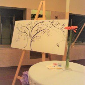 drevo za odtise ali podpise
