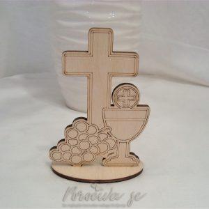 stoječi križ s kelihom