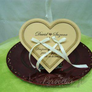 Leseno srce za prstana