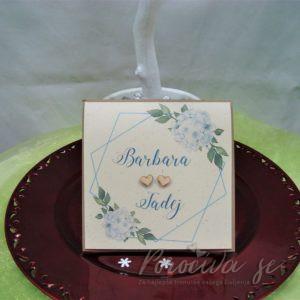 Poročna vabila Cvetje 117