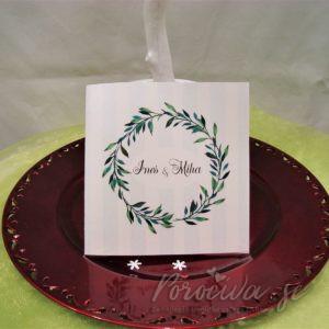 Poročna vabila Zelenje 101