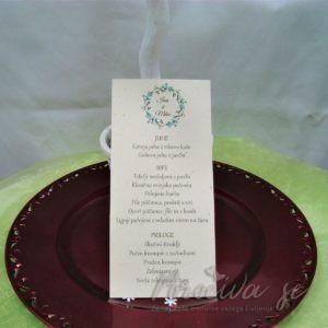 Poročni jedilnik Zelenje 03