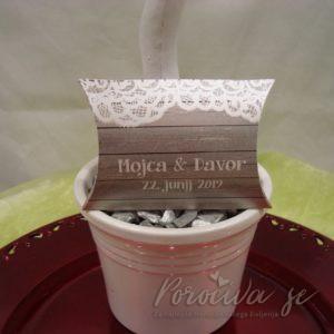 Poročni konfeti Čipka 139