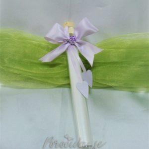 Poročno vabilo epruveta lila