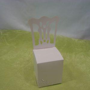 Poročni konfet v obliki Stola